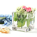tabel centerpieces firkantet glas centerpiece table deocrations