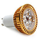 GU10 LED Spotlight MR16 4 High Power LED 360 lm Warm White AC 85-265 V