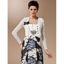 Office & Career Lace Wedding  Wraps Coats/Jackets 3/4-Length Sleeve