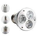 E27/E14/GU10 3W 270LM 3000K Warm White Light Spot Bulb (85-265V)