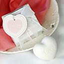 faveur de mariage blanc coeur du savon