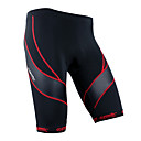 Santic-Men's Cycling Shorts/bike shorts/bicycling shorts/chamois/knicks Coolmax Red Trace
