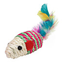 Sisal Colorful Mouse Style Cat Scratch Toys