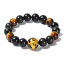 Men's/Unisex/Women's Fashion/Round Bangles Bracelet Onyx