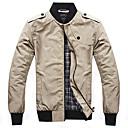 Men's Long Sleeve Jacket Casual Pure