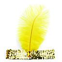 Yellow Indian Style Leather Halloween Headband (1 piece)