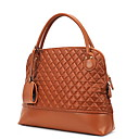 Women's Diamond Check Rivet Satchel(40*11*33CM)