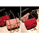 Women's Trendy Sweet Suede Diamond Check Mini Bag  (18*6*10CM)
