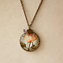 Women's Vintage Rose Necklace(Pendant:2.5*2.5CM,Length:60CM)