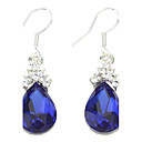 Drop Earrings Women's Cubic Zirconia/Alloy Earring Cubic Zirconia