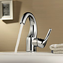 Sprinkle® by Lightinthebox - Single Handle Centerset Solid Brass Chrome Finish Bathroom Sink Faucet
