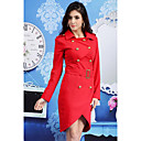 Women's Double Breast Slim Cut Coat