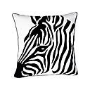 Zebra Head Bomull Dekorativ örngott