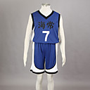Cosplay Costume Inspired by The Basketball Which Kuroko Plays Kise Ryota Kaijō High School Basketball Team Uniform Blue NO.7