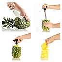 køkken i rustfrit stål let ananas frugt corer pålægsmaskine