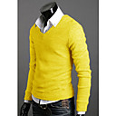 Herre V-Neck Jersey Pullover (Slim Fit)