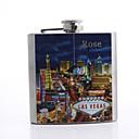 Gift Groomsman Personalized 6-oz Flask - Las Vegas