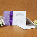 Hochzeits-Einladungen Glatte Karte Einladungskarten Unpersonalisierte 50 Stück / Set