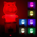 Pig Shaped farveskiftende LED Night Light (220V)