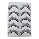 5 Pairs European Black False Eyelashes 308