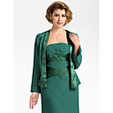 Long Bell Sleeve Chiffon Evening/Wedding Wrap/Evening Jacket With Imitation Silk Trim (More Colors) Bolero Shrug