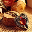 Women's Heart Wing Vintage Necklace