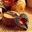 vrouwen het hart vleugel vintage ketting