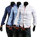 Men'S Trendy Slim Knit Shirt