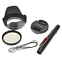 Camera 18-55mm CPL Filter + Lens Cap Cover + Cleaning Pen 52mm for Nikon D3100