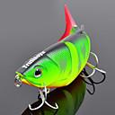 trulinoya-hard agn fire-seksjonen ørekyte 80mm / 10g sakte synker fiske lokke