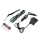 Samllsun Foco ajustável Recharge Waterproof 4-Mode Cree Q5 Led Flashlight ZY-R19 (240LM, 1x18650, Black)