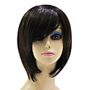 Capless Top Grade Synthetic Dark Brown Straight Short BoB Hair Wig