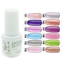 YeManNvYou®Sequins UV Color Gel Nail Polish No.145-156 (5ml, Assorted Colors)