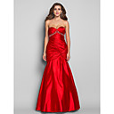 Formal Evening/Military Ball/Prom Dress - Ruby Plus Sizes Trumpet/Mermaid Sweetheart Floor-length Charmeuse