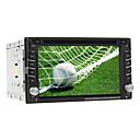 6,2-Zoll-TFT-Bildschirm 2 Din In-Dash Car DVD-Player unterstützt GPS, iPod, BT, Touch Screen