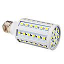 E27 12W 6000K 60x5050SMD холодным белым светом мозоли СИД лампы (220)