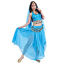 Pretty Performance Chiffon Belly Dance Outfits For Ladies(More Colors)