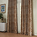 (Two Panels) Michelle Luxury® Rococo the Crown was Surrounded Energy Saving Curtain