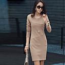 Mini vestido de la envoltura de las mujeres