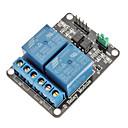 2 kanava sähkö Relay Module Relay Expansion Board optokytkimellä