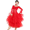 Dancewear Spandex And Tulle Modern Dance Dress For Ladies(More Colors)
