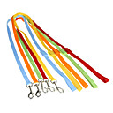 nylon ren farve sikkerhed førte lys snor for små racer kæledyr hunde (assorterede farver)