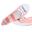 Women's Matched Color Flat Bottom Casual Sandal Shoes(Red)