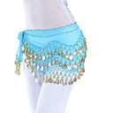 Dancewear chiffon Belly Dance Belt For Ladies (mais cores)