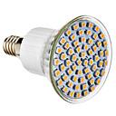 E14 4W 60 SMD 3528 300 LM Естественный белый Точечное LED освещение AC 220-240 V