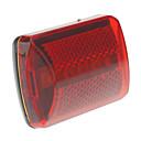 2-Mode 5xLed Untertasse Fahrradrücklichter (2 x AA, Rot + Schwarz)