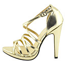 Open Toe Stiletto Heel Pumps With Buckle Party&Evening Women's Shoes(More Colors)
