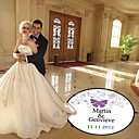 Wedding Décor Personalized Butterfly  Dance Floor Decal (More Colors)