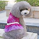 섹시한 레이스 장식 애완 동물 개를위한 드레스 (분류 된 색깔, 크기)