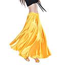 Kvinders Satin Belly Dance Long Skirt flere farver